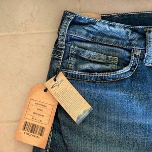 Silver Jeans Co. Suki Straight Indigo Jeans